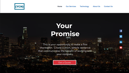 Security Company Website Template