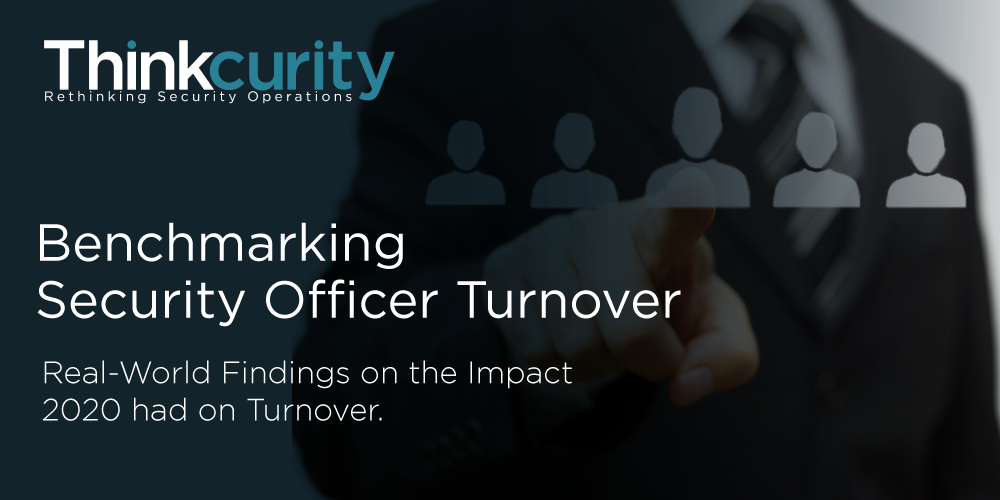Benchmarking Security Officer Turnover Report Thank You Page
