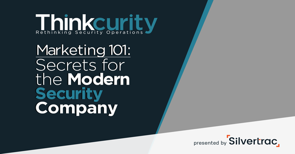 Security Marketing 101 Webinar