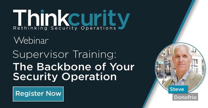 Supervisor Training Webinar Feature