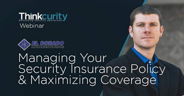 Managing Security Insurance Webinar
