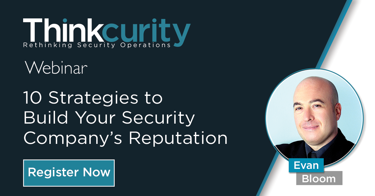 10 Strategies to Build Your Security Company's Reputation 1200x628_Feature