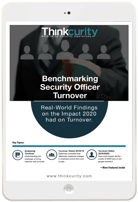 Benchmarking Security Officer Turnover Report (iPad)