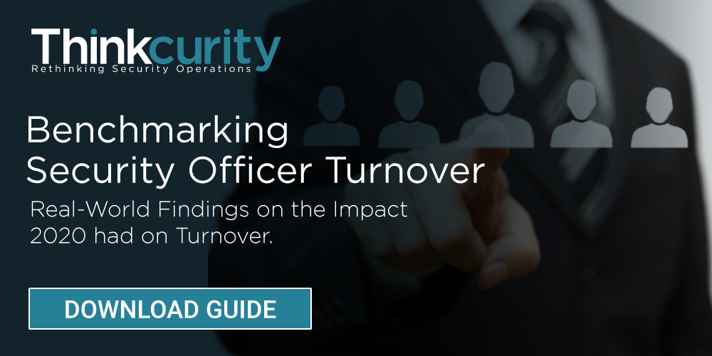 Benchmarking Security Officer Turnover Report Download Now